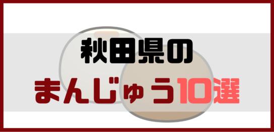 秋田まんじゅう土産10